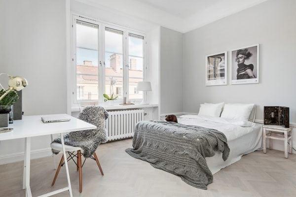 Rymliga sovrum 2 med underbart fönsterparti