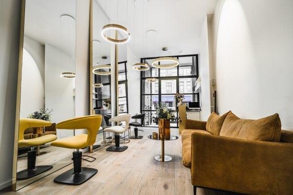Ombyggnation av Stork Housing - Restaurang blir till frisörsalong