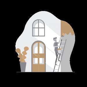 Steg 3 - Stork Housing utför entreprenaden i er fastighet