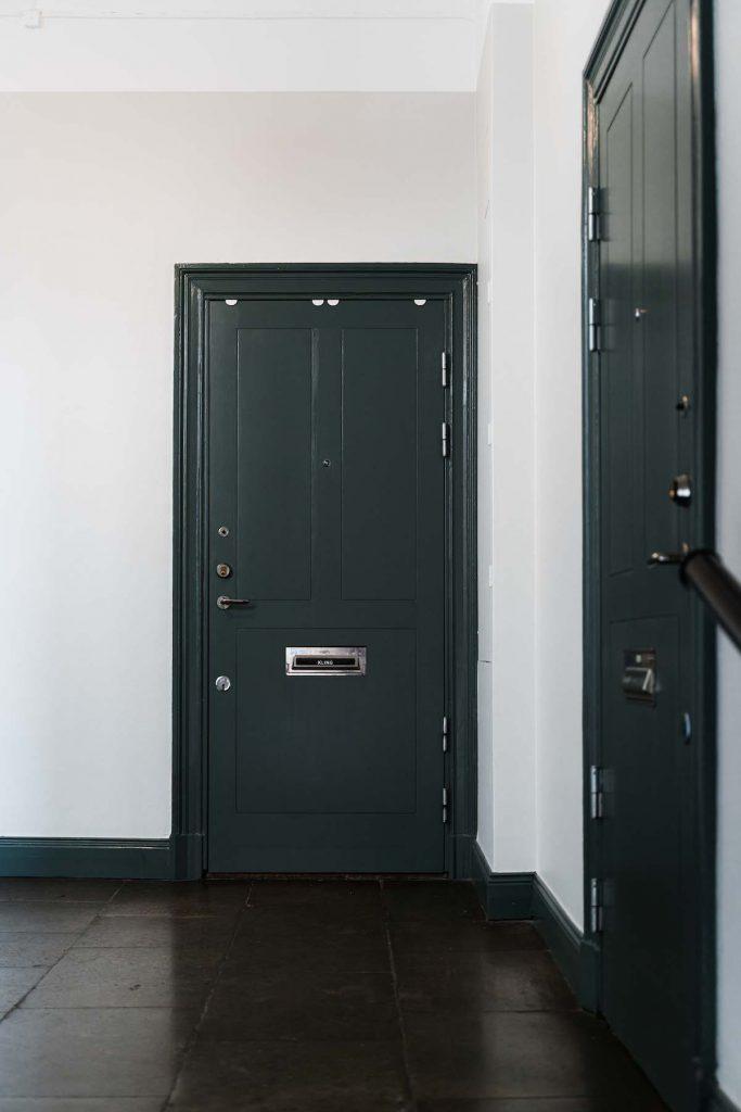 Säkerhetsdörrar Stork Housing Trapphusrenovering